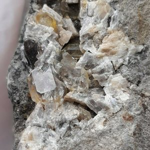 Herkimer Diamond Quartz Crystal on Matrix Free Shipping!
